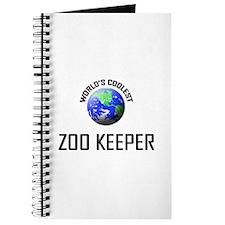 World's Coolest ZOO KEEPER Journal