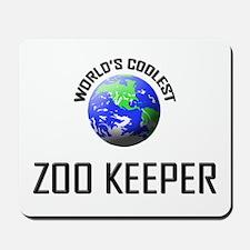 World's Coolest ZOO KEEPER Mousepad
