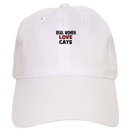 Real Women Love Cats Cap