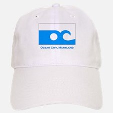 Ocean City MD Flag Baseball Baseball Cap