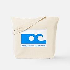 Ocean City MD Flag Tote Bag