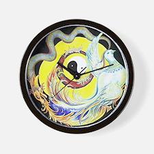 DRAGON & PHOENIX Wall Clock