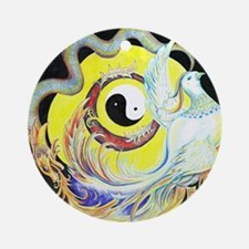 DRAGON & PHOENIX Ornament (Round)