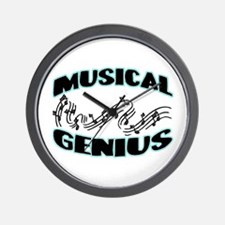 Musical Genius Wall Clock
