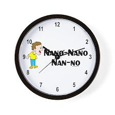 Nano Nano Wall Clock