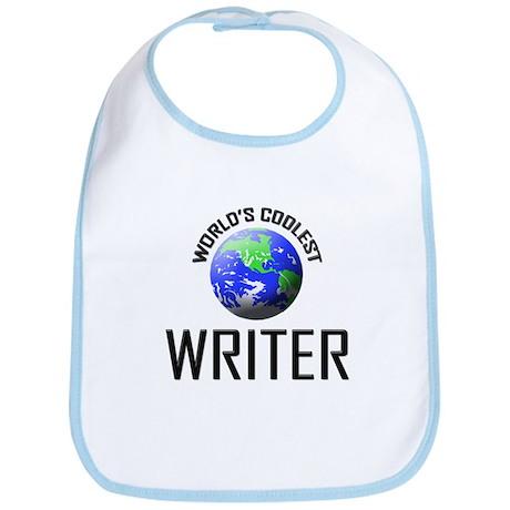 World's Coolest WRITER Bib