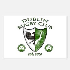 Dublin Rugby Club Postcards (Package of 8)