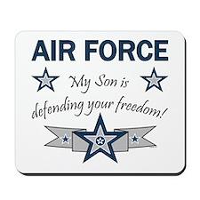 Air Force Son Defending Mousepad