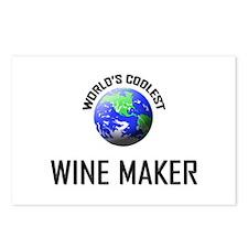 World's Coolest WINE MAKER Postcards (Package of 8