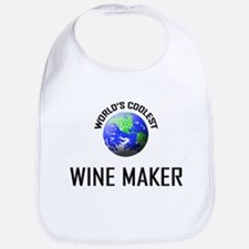 World's Coolest WINE MAKER Bib