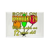 Leap year Magnets