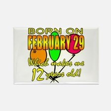 Leap Year Birthday 48 Yrs Rectangle Magnet