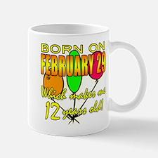 Leap Year Birthday 48 Yrs Mug