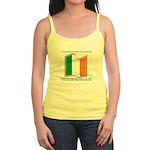 Wavy Irish Flag Jr. Spaghetti Tank