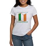 Wavy Irish Flag Women's T-Shirt