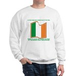 Wavy Irish Flag Sweatshirt