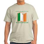 Wavy Irish Flag Light T-Shirt