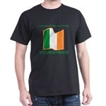 Wavy Irish Flag Dark T-Shirt