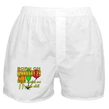Born on Leap Year, 11 Years Old Boxer Shorts