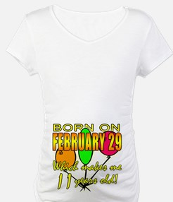 Born on Leap Year, 11 Years Old Shirt