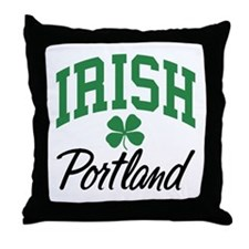 Portland Irish Throw Pillow