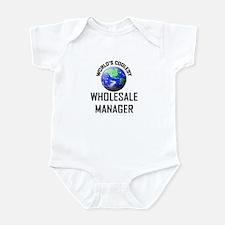 World's Coolest WHOLESALE MANAGER Infant Bodysuit