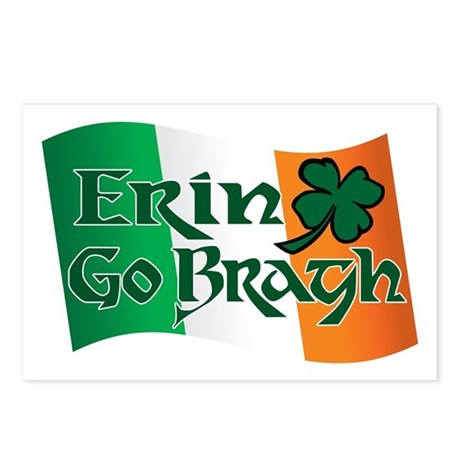 Erin Go Bragh v13 Postcards (Package of 8)