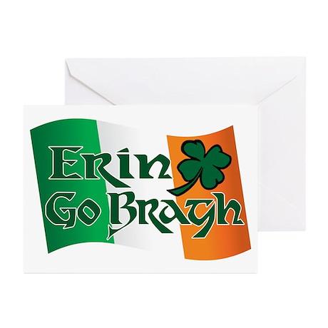Erin Go Bragh v13 Greeting Cards (Pk of 20)