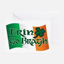 Erin Go Bragh v13 Greeting Cards (Pk of 10)