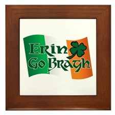 Erin Go Bragh v13 Framed Tile