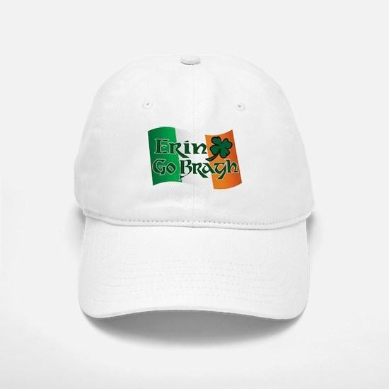 Erin Go Bragh v13 Baseball Baseball Cap