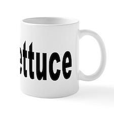 I Love Lettuce Mug