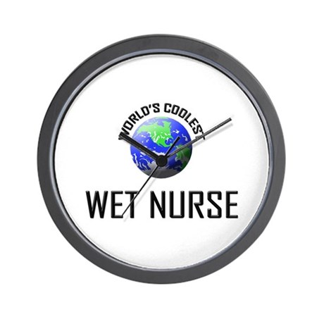 World's Coolest WET NURSE Wall Clock