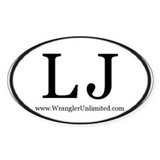LJ euro style JEEP Decal