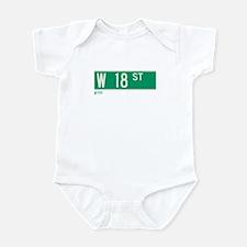 18th Street in NY Infant Bodysuit