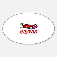 Hayden Oval Decal