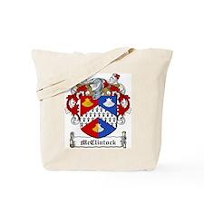 McClintock Family Crest Tote Bag