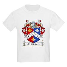 McClintock Family Crest Kids T-Shirt