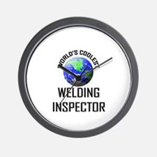 World's Coolest WELDING INSPECTOR Wall Clock
