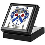 McClure Family Crest Keepsake Box