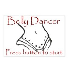 Belly dancer Postcards (Package of 8)