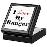 I Love My Ranger Keepsake Box