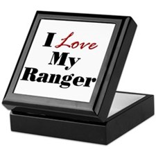 I Love My Ranger Keepsake Box
