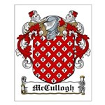 McCullogh Family Crest Small Poster