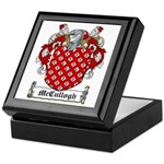 McCullogh Family Crest Keepsake Box