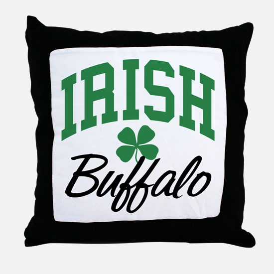 Buffalo Irish Throw Pillow