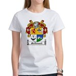 McDonnell Family Crest Women's T-Shirt