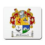 McDonnell Family Crest Mousepad