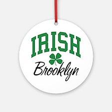 Brooklyn Irish Ornament (Round)
