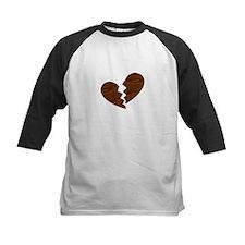 Broken Wood Heart anti-Valentine Tee